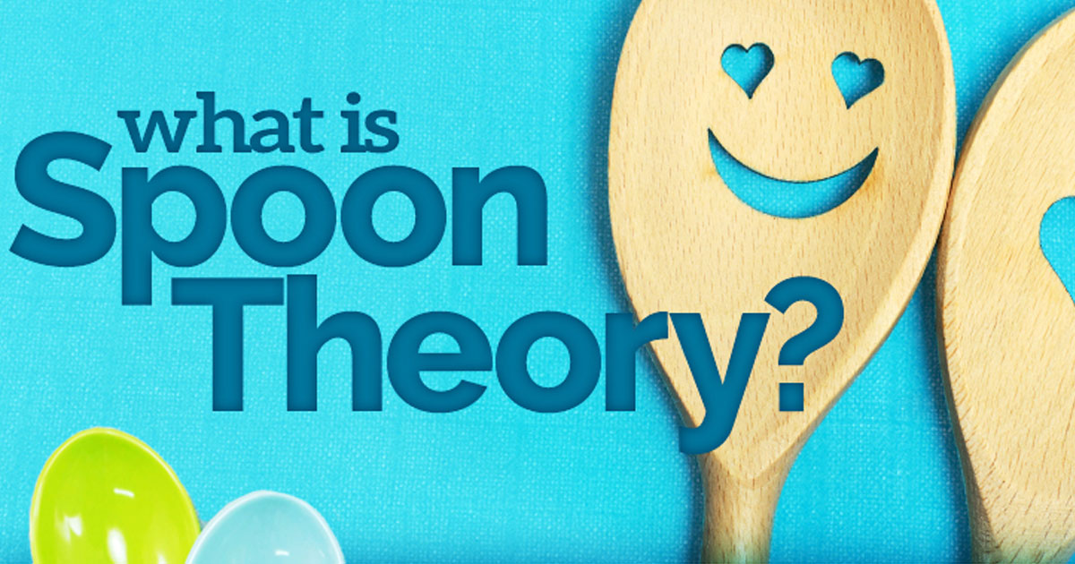 Ovarian Cancer Infographic - Using the Spoon Theory to Explain Ovarian Cancer
